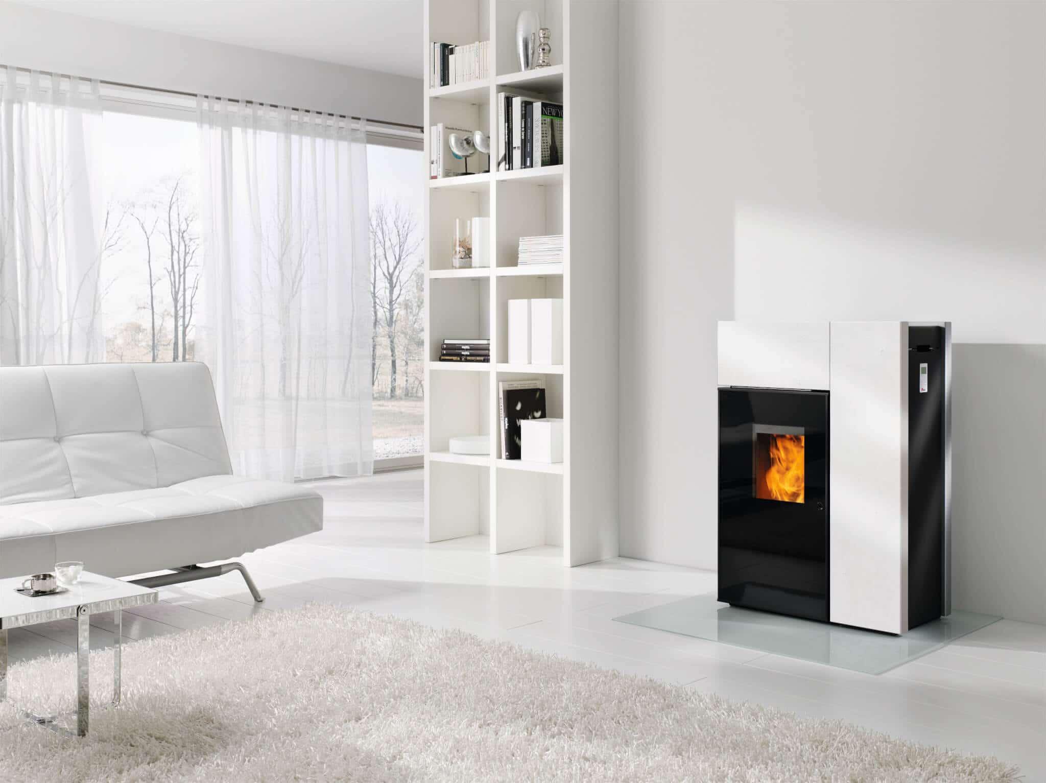 poele a pellet rika topo 2. Black Bedroom Furniture Sets. Home Design Ideas