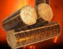 buche bois densifié