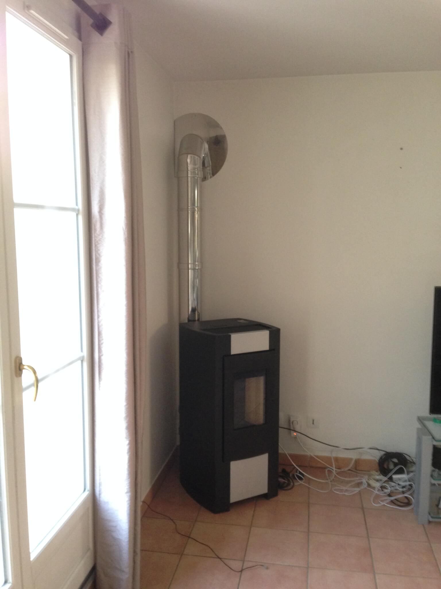 conduit en sortie murale stera. Black Bedroom Furniture Sets. Home Design Ideas