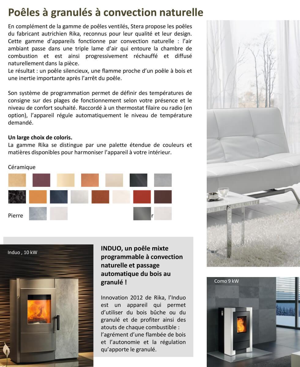 po le granul s pellet chaudi re extraflame rika stera. Black Bedroom Furniture Sets. Home Design Ideas